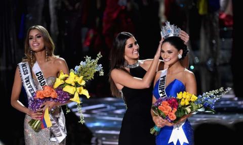 Miss Filipinas le envía un mensaje en Instagram a Miss Colombia