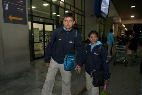Marchistas de oro regresan al país comprometidos a seguir trabajando