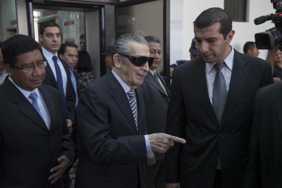 Caso Ríos Montt continuará en tribunal B de Mayor Riesgo