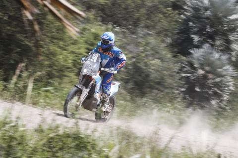 El guatemalteco Francisco Arredondo terminó con éxito el Rally Dakar