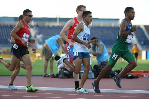 Guatemalteco Mario Pacay destaca en el Mundial Juvenil de Atletismo