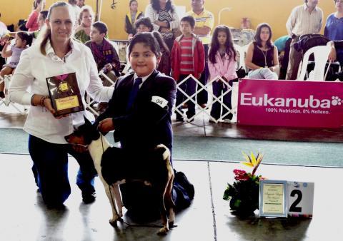 """Expocan premia a los niños que pueden ser """"líderes de la manada"""""""