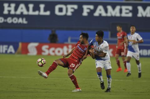 Suchitepéquez consiguió un valioso punto en su visita al FC. Dallas