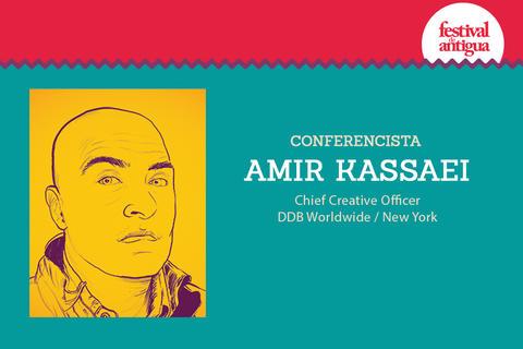 Expositor en Festival Antigua: Amir Kassaei