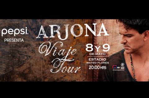 """Ubicaciones, parqueo y escenario del """"Viaje Tour"""" de Ricardo Arjona"""