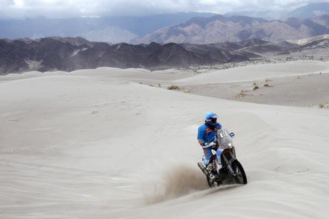 Francisco Arredondo venció el desierto en la décima etapa del Dakar