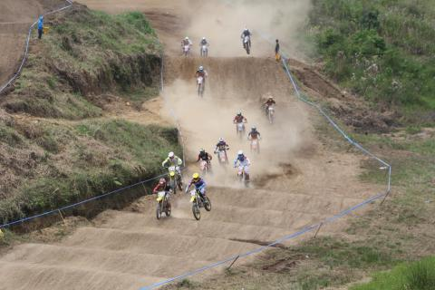 Exitosa quinta fecha del Campeonato Nacional de Motocross en Cobán