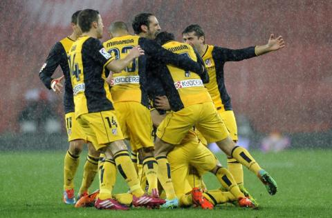 Los colchoneros subcampeones van ante el Bayer Leverkusen
