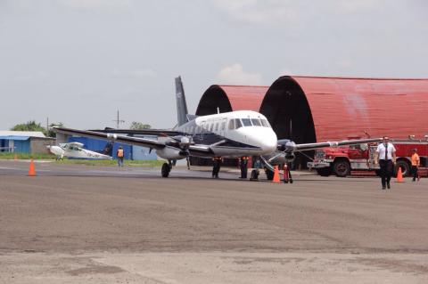 Así es el nuevo aeródromo de Retalhuleu que recién fue inaugurado