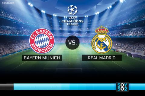 Seguimiento en directo: Bayern Munich-Real Madrid