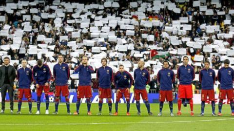 El Barça podría coronarse campeón en el Santiago Bernabéu