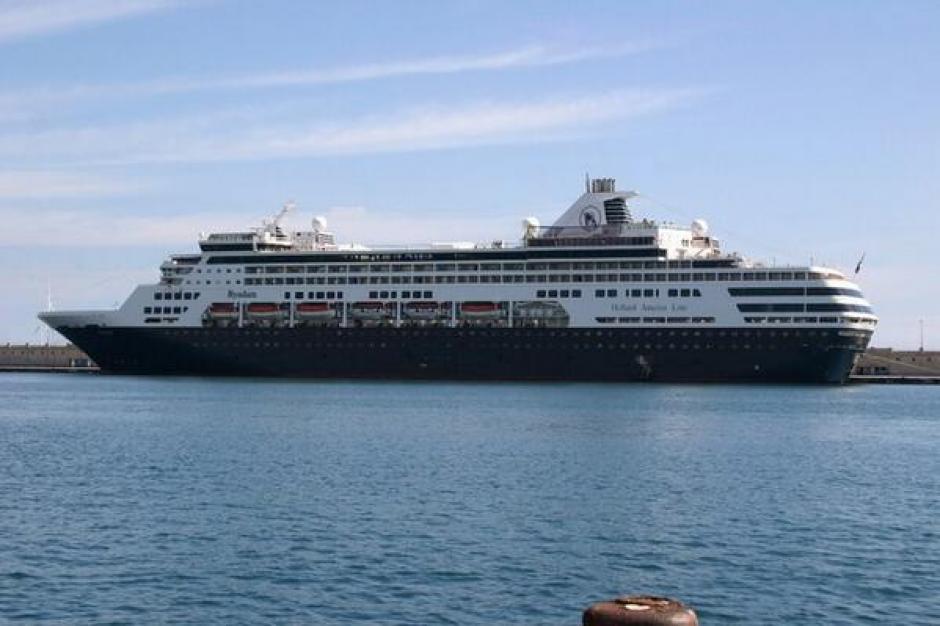 Puerto Quetzal recibe a crucero con más de 600 turistas a bordo