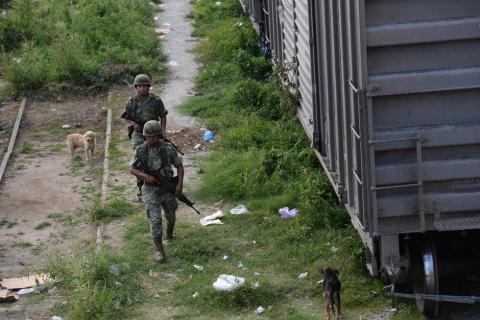 Realizan operativos contra migrantes en Chiapas, México