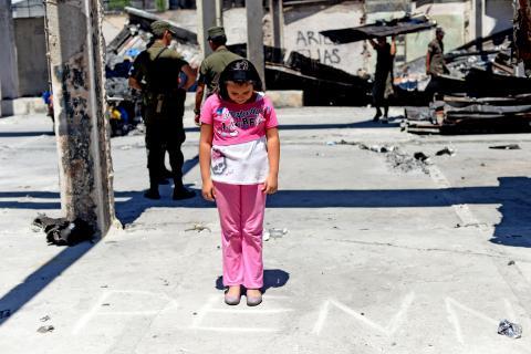 Los niños de La Terminal se quedaron sin escuela