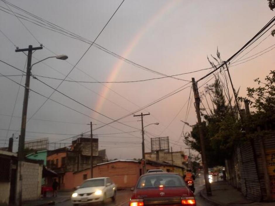 Despertamos con arcoíris