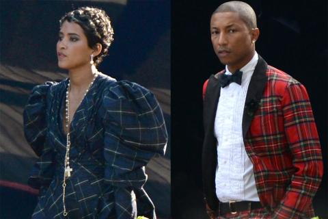 Pharrell Williams y Helen Lasichanh ya son marido y mujer