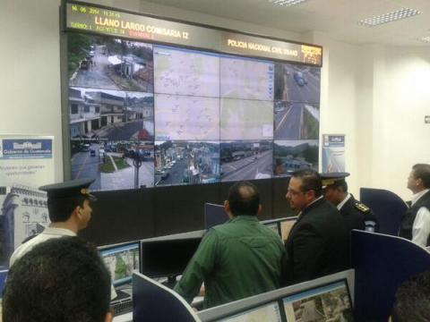 Otra modalidad contra la violencia:  Centro de Monitoreo en zona 18