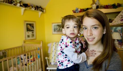 Muere Brooke Greenberg, la niña que nunca creció