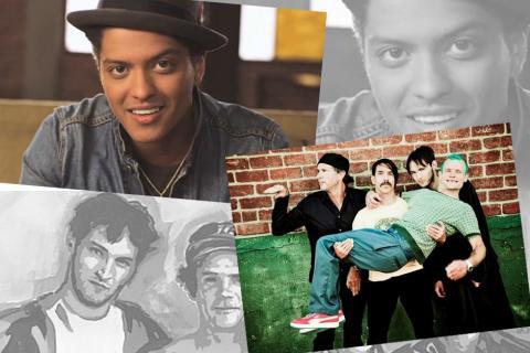 Red Hot Chili Peppers cantará junto a Bruno Mars en el Super Bowl