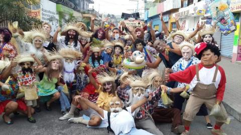 Desfile de Fieros en Villa Nueva