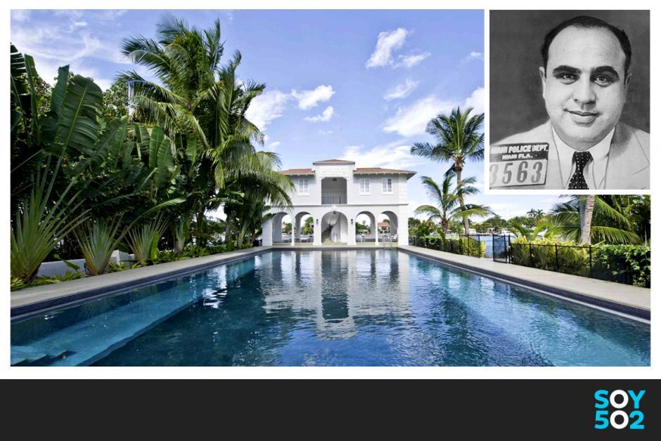 A la venta mansión de Al Capone por 8.5 millones de dólares