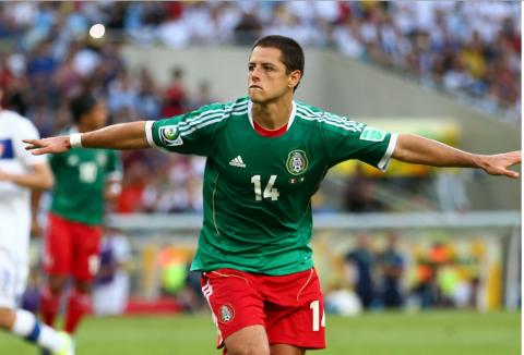 """El """"Chicharito"""" Hernández buscará darle la gloria continental a México"""