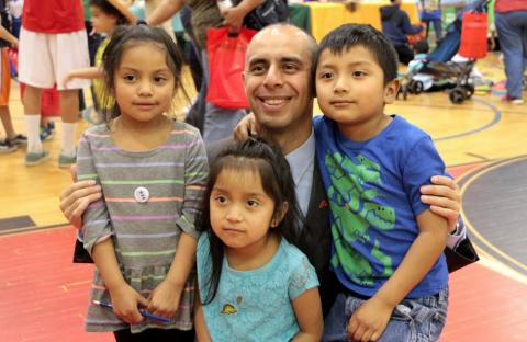El Providence de Elorza, un buen refugio para los migrantes en EE.UU.