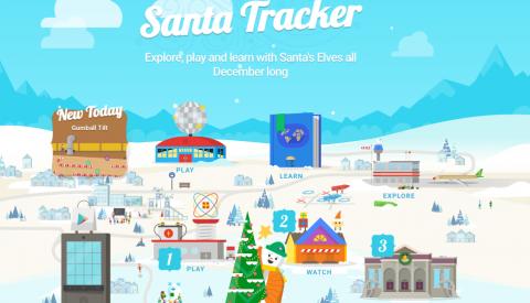 Google lanza juego para encontrar regalos de Santa como en Pokémon Go