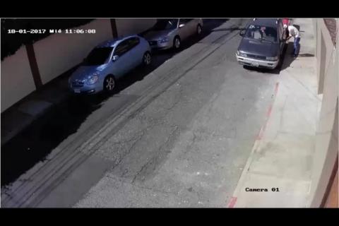 Así fue como en 24 horas localizaron el vehículo robado en zona 10