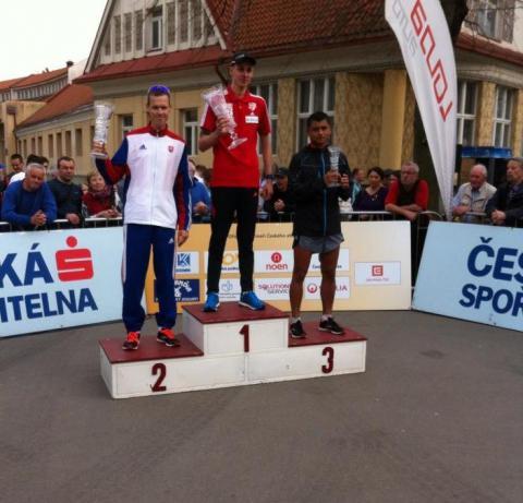 Erick Barrondo finalizó tercero en competencia en la República Checa