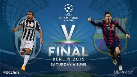 Barcelona y Juventus jugarán final inédita de Champions League