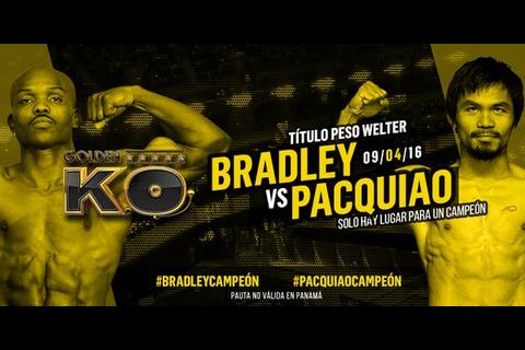 Pacquiao y Bradley se instalaron en Las Vegas para su pelea del sábado