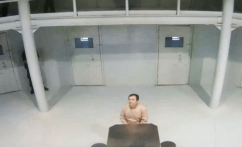 """Así es la vida de """"El Chapo"""" Guzmán en prisión"""