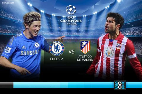 Minuto a minuto: Chelsea-Atlético de Madrid