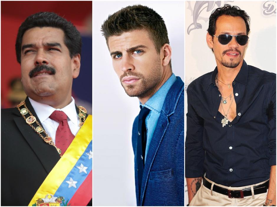 Maduro, Piqué o Marc Anthony...todos quieren felicitar a Chile