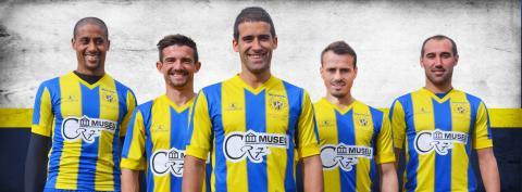 Marca CR7 figura en uniforme del club de la ciudad natal de Cristiano