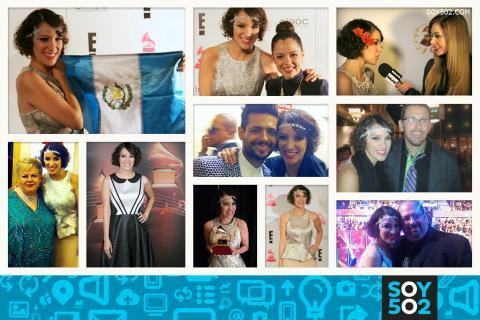 Así celebró Gaby Moreno su Latin Grammy