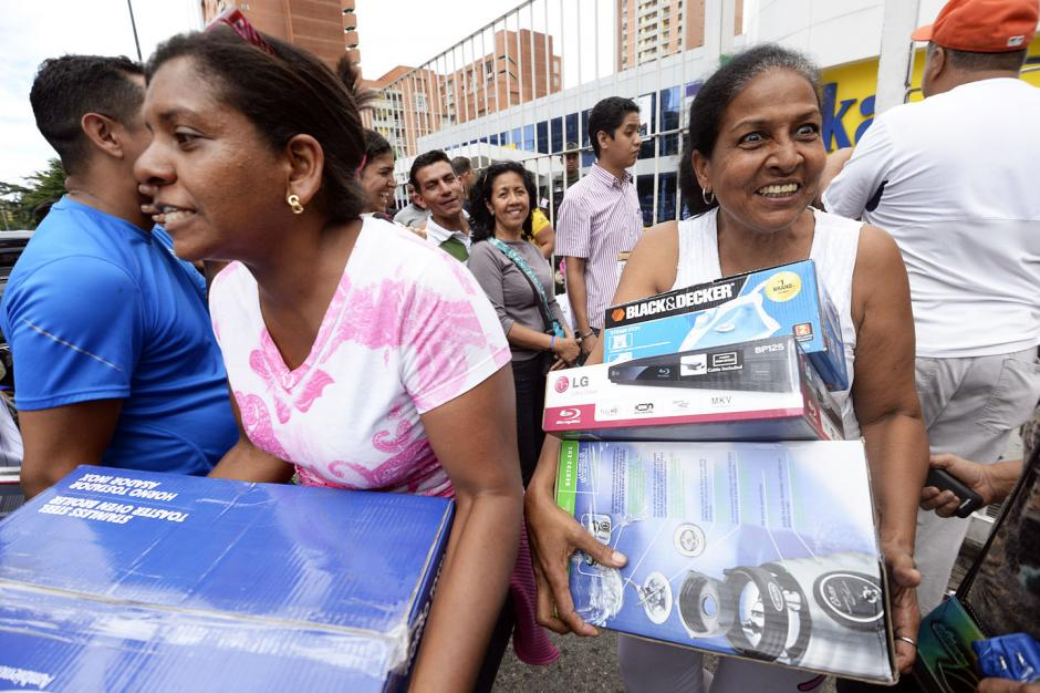 Electrodomésticos se agotan en Venezuela