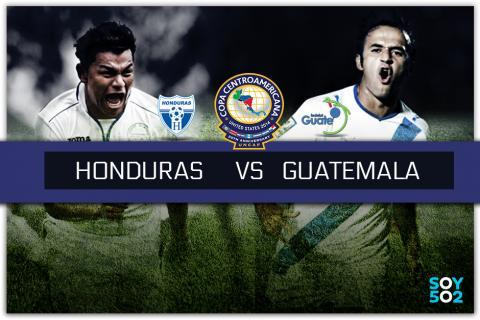 Guatemala ante Honduras, la batalla final por el liderato del grupo A