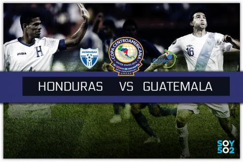 Minuto a minuto: Honduras- Guatemala en la Copa Uncaf
