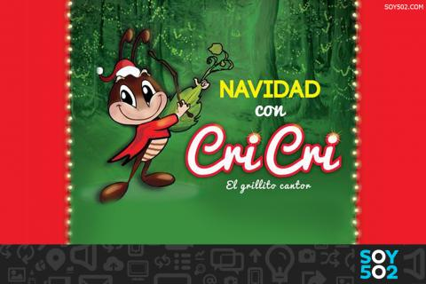 Navidad con Cri-Cri, un evento para toda la familia