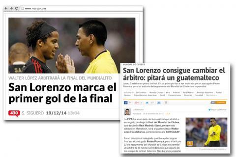 Polémica: medios españoles no quieren a Walter López en la final