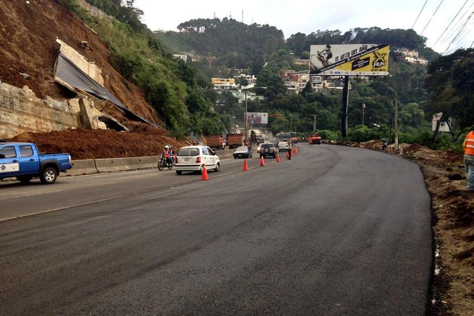 Habilitados cuatro carriles en carretera a El Salvador