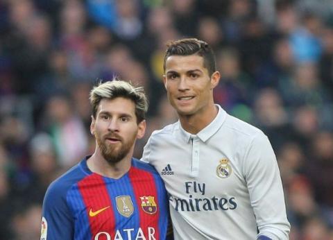Mientras los aficionados se pelean, Messi y Cristiano se llevan bien
