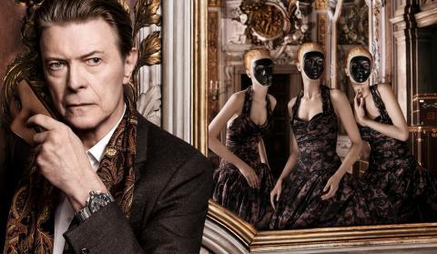 David Bowie protagoniza anuncio de Louis Vuitton