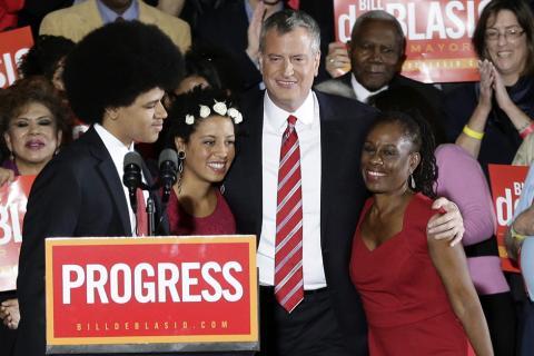 Hispanos de Nueva York celebran un triunfo demócrata en la alcaldía