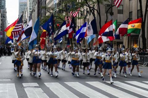 Nueva York festeja a los latinos con el Día de la Hispanidad