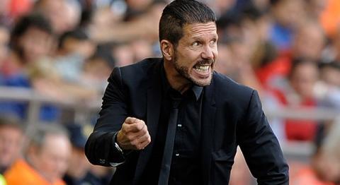 """Simeone: """"Hay que celebrar, pero no dejar de pensar en ganar la Liga"""""""