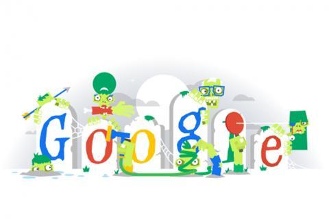 """¡Boooo! Google se pone terrorífico son sus """"doodles"""""""