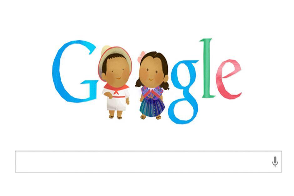 Doodle conmemora el Día del Niño
